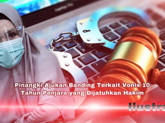 Pinangki Ajukan Banding Terkait Vonis 10 Tahun Penjara yang Dijatuhkan Hakim