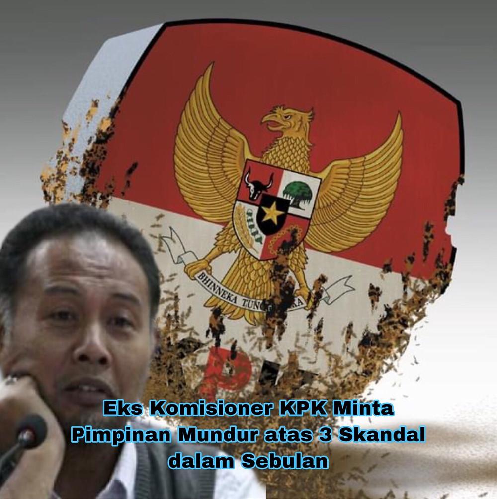 Mantan komisioner KPK menilai ada tren integritas di KPK sudah tak lagi diutamakan. Ia khawatir tren tersebut berlanjut.