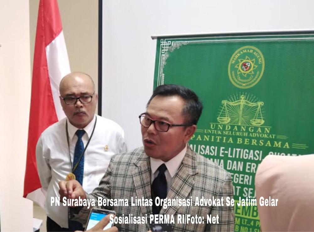 2 PNS Pengadilan Negeri Surabaya, Turut Diperiksa KPK, Ketua PN Surabaya Tutup Mulut