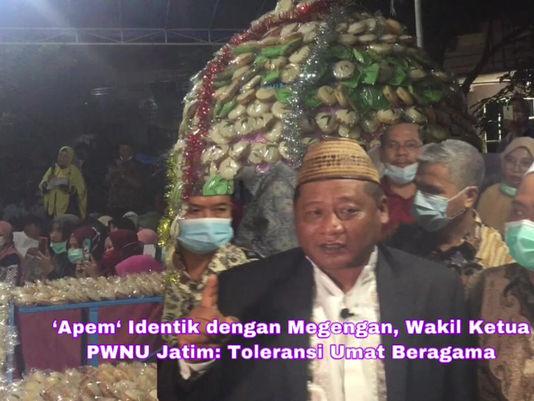 'Apem' Identik dengan Megengan, Wakil Ketua PWNU Jatim: Toleransi Umat Beragama