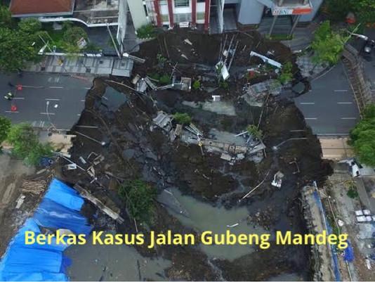 Petunjuk Jaksa Belum Dipenuhi, Berkas Kasus Jalan Gubeng Mandeg
