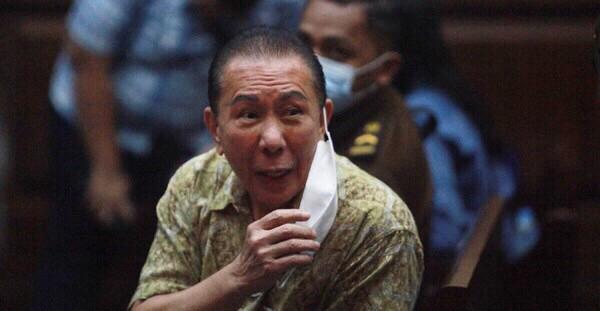 Djoko Tjandra di pengadilan negeri Jakarta Timur. (Foto:detik.com)