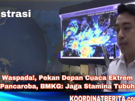 Waspada!, Pekan Depan Cuaca Ekstrem Pancaroba, BMKG: Jaga Stamina Tubuh