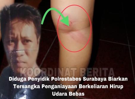 Diduga Polrestabes Surabaya Biarkan Tersangka Penganiayaan Berkeliaran Hirup Udara Bebas