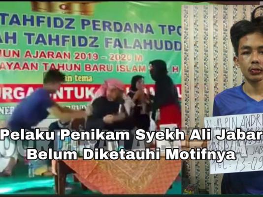 Pelaku Penikam Syekh Ali Jabar Belum Diketauhi Motifnya