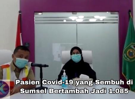 Pasien Covid-19 yang Sembuh di Sumsel Bertambah Jadi 1.085