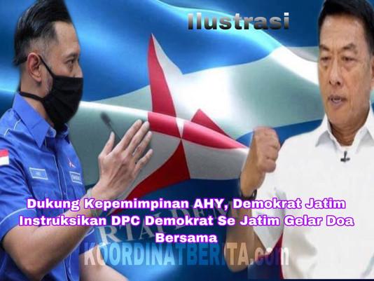 Dukung Kepemimpinan AHY, Demokrat Jatim Instruksikan DPC Demokrat Se Jatim Gelar Doa Bersama