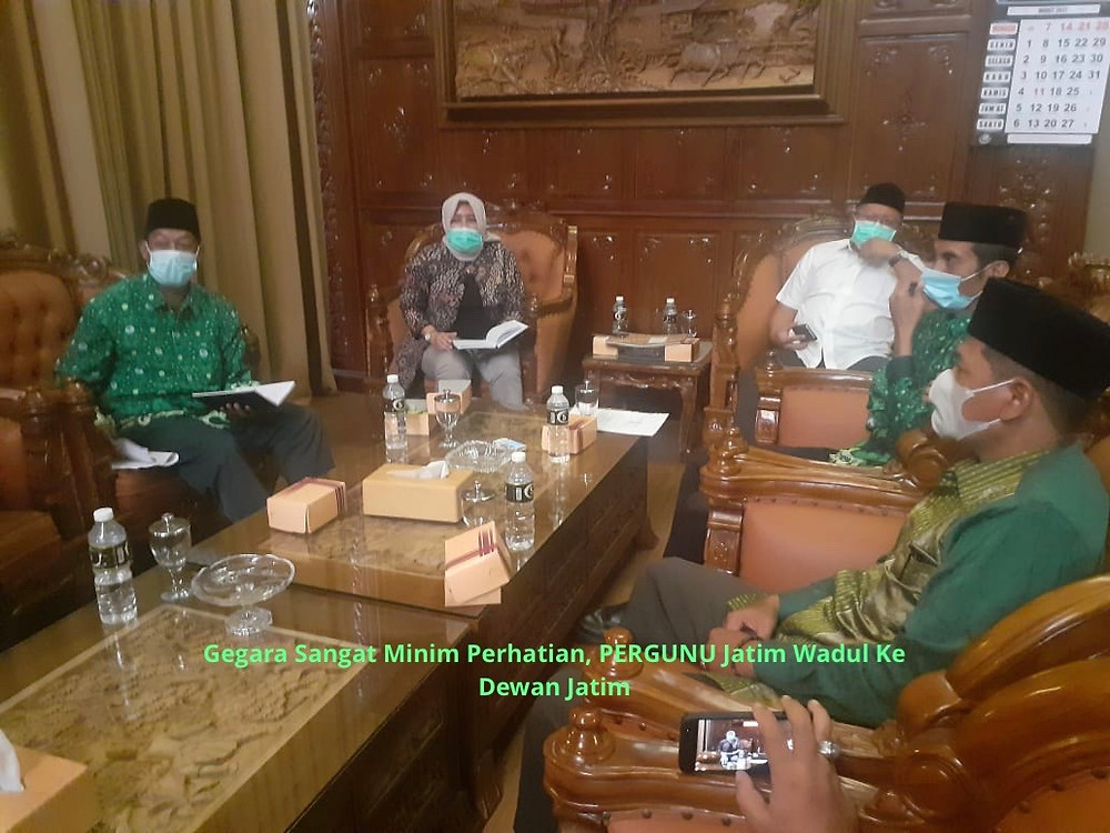 Wakil ketua DPRD Jatim Anik Maslachah mengatakan atas pengaduan dari Pergunu Jatim minta diperlakukan yang sama dengan organisasi keguruan lainnya. (Foto: Ayul)