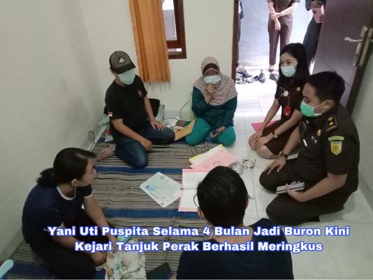 Yani Uti Puspita Selama 4 Bulan Jadi Buron Kini Kejari Tanjuk Perak Berhasil Meringkus
