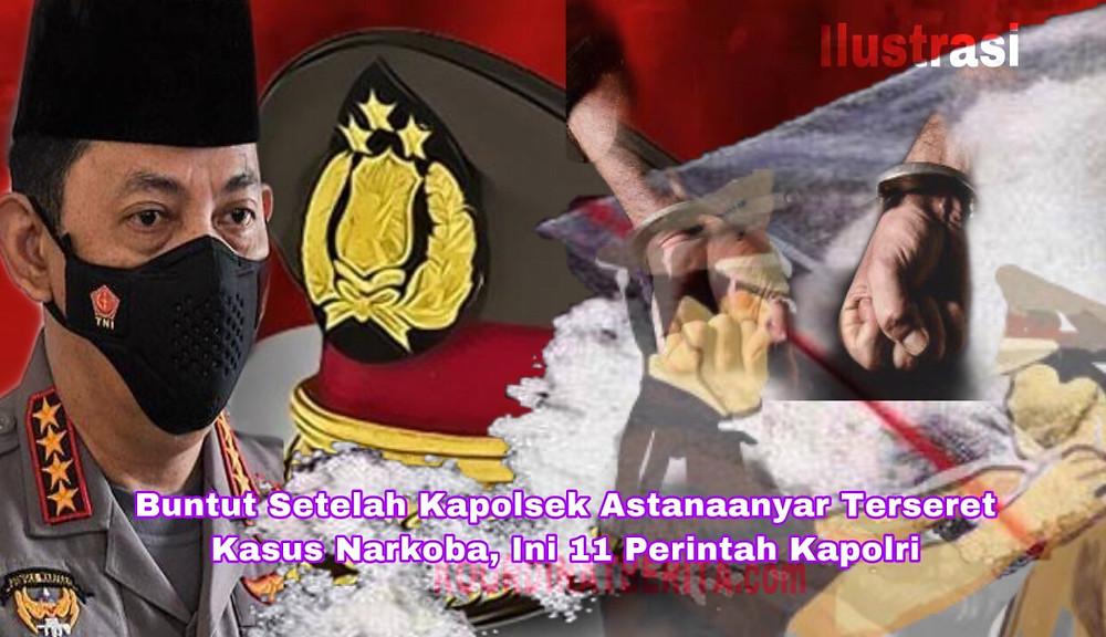 Kapolri Jenderal Listyo Sigit memerintahkan para Kapolda mengetatkan tes urin kepada para anggota. Deteksi dini penyalahgunaan narkoba.( Ilustrasi )