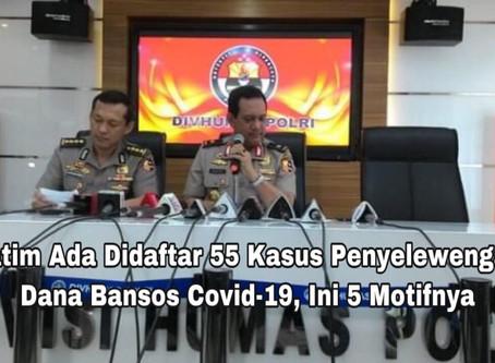 Jatim, Ada didaftar 55 Kasus Penyelewengan Dana Bansos Covid-19, Ini 5 Motifnya