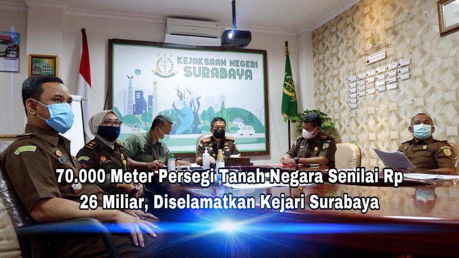 Kejari Surabaya Selamatkan 70.000 M2 Tanah Negara Senilai Rp 26 Miliar