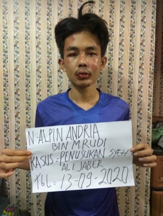 Pelaku sudah dilakukan pemeriksaan  Mapolsek Tanjungkarang Barat,
