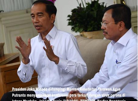 Istana, Dikabarkan Gerah Terhadap Menteri Kesehatan, Terkait Penyebaran Virus Corona