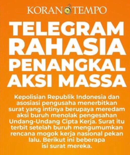 Coverstory Koran Tempo