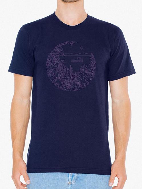 Slow Air T-shirt (navy)
