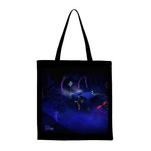 Dead Blue tote bag
