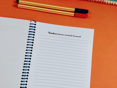 Escrita expressiva: o poder de escrever e reescrever sua própria história