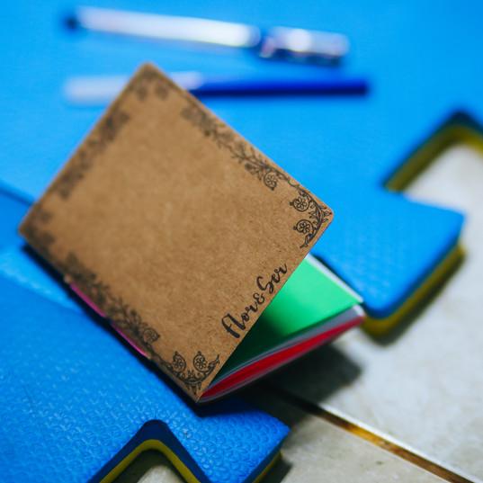 Caderno de bolsa FloreSer