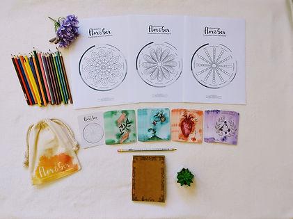 kit cartas flor&ser