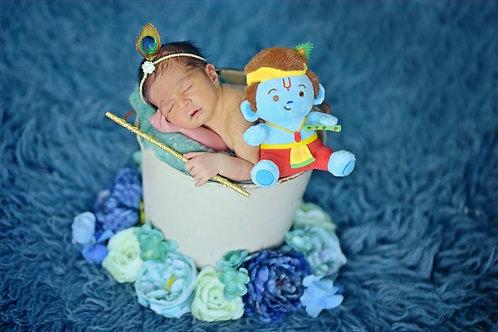 Baby Krishna, mantra-singing plush toy from Modi Toys
