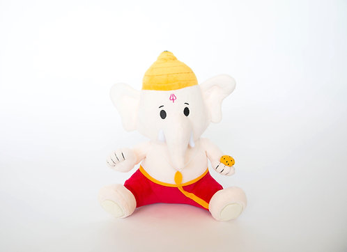 Mantra-singing Baby Ganesh plush from Modi Toys
