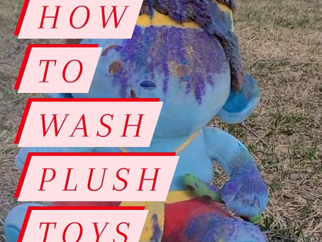 How to Wash Plush Toys