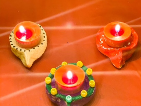 4 Diwali Inspired Arts and Crafts Ideas for Toddlers