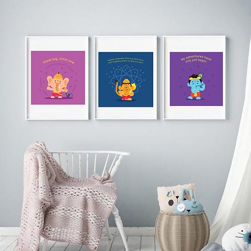Trio Wall Prints