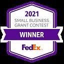FedEx Small Business Grant Winner 2021 M