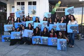 Modi Toys, Modi Joy charity event, paint