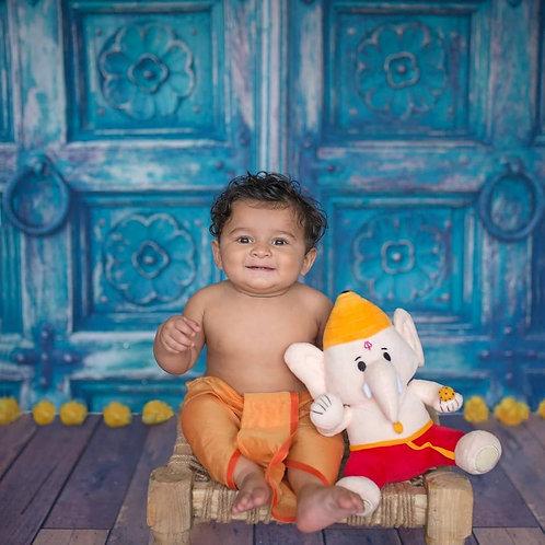 "Baby Ganesh Plush (Medium - 10"")"
