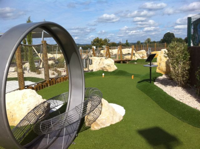 Adventure golf_France_Nevers_Built 2010