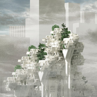 Cloud-Harvesting Housing Complex (2017)
