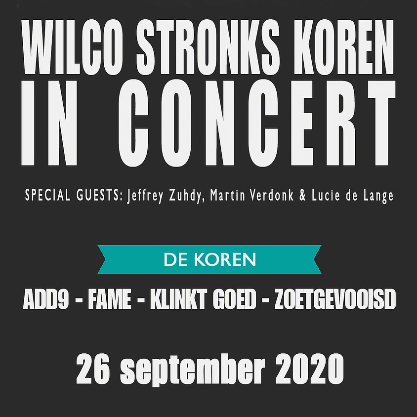 Wilco Stronks Koren in Concert