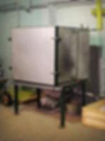 Установка для формования термопанелей из пенопласта (пенополистирола)
