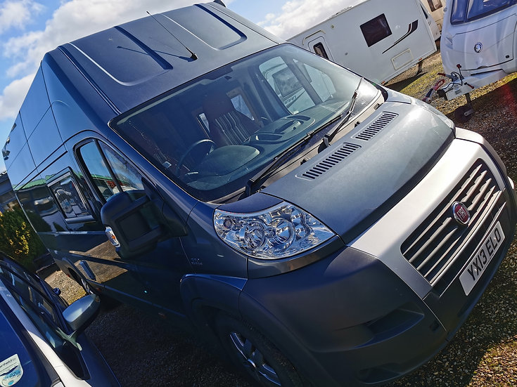 2013 Fiat Ducato Automatic Motorhome with mobility accessible features