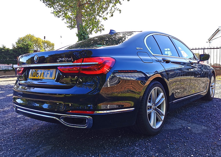 2017 BMW 740e Hybrid 2.0 BiTurbo Saloon