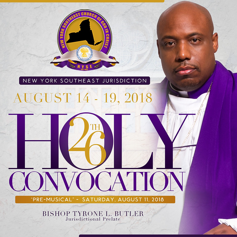 26TH HOLY CONVOCATION