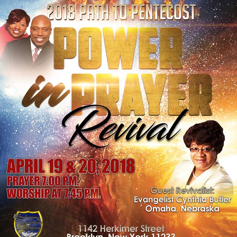 POWER IN PRAYER REVIVAL