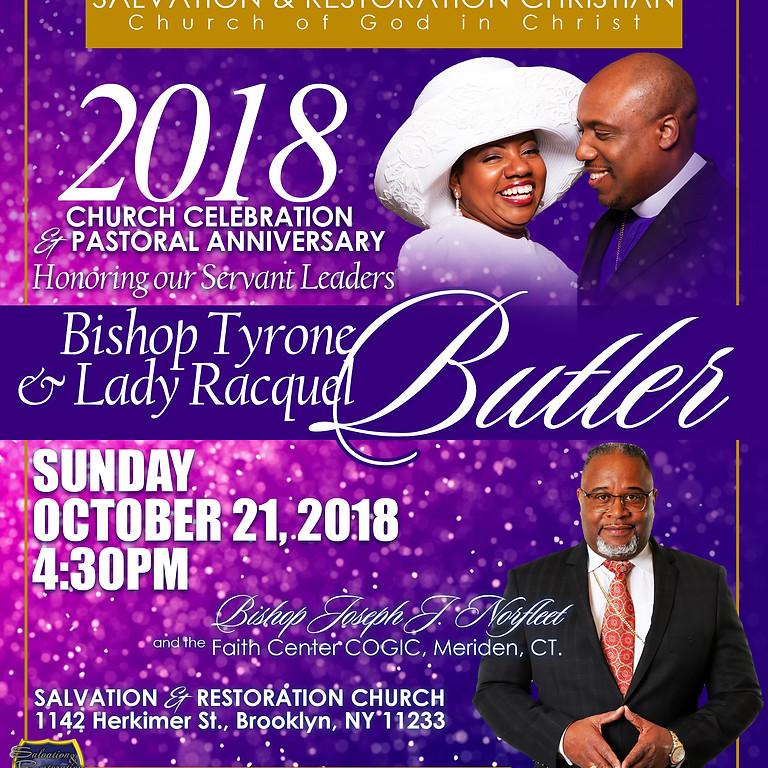 2018 CHURCH CELEBRATION & PASTORAL ANNIVERSARY!