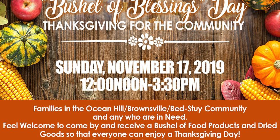 BUSHEL OF BLESSINGS DAY