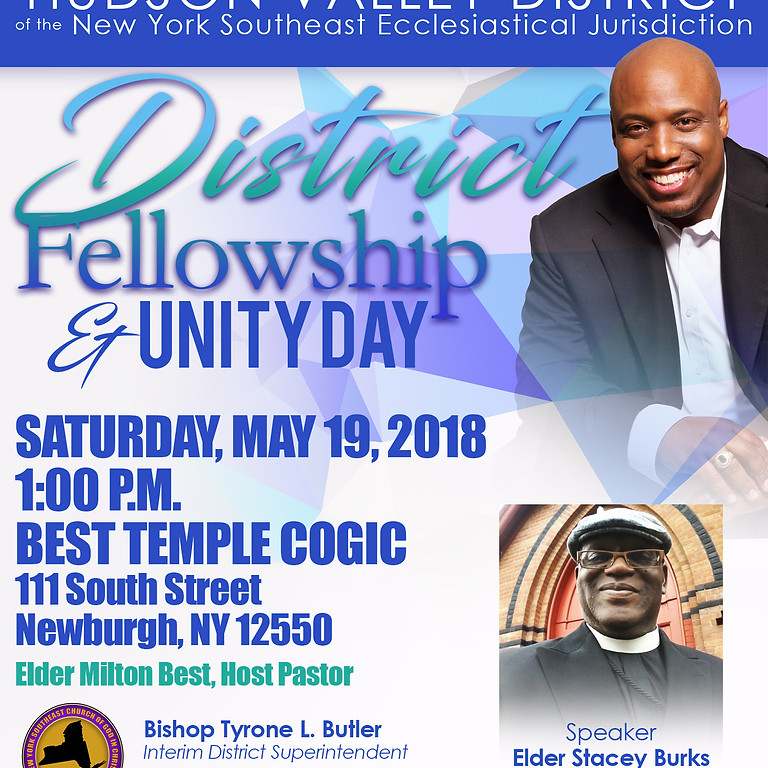 HUDSON VALLEY DISTRICT | DISTRICT FELLOWSHIP AND UNITY DAY