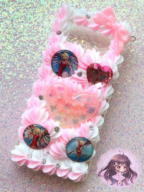 Note 8 Pink Mercy Decoden Case