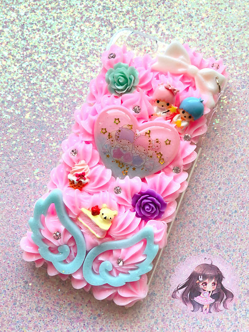 iPhone 6/6s PLUS Little Twin Stars Decoden Case