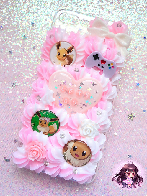 iPhone 7/8 PLUS Let's Go Eevee Decoden Case