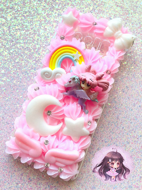 Note 8 Chibi Moon Decoden Case