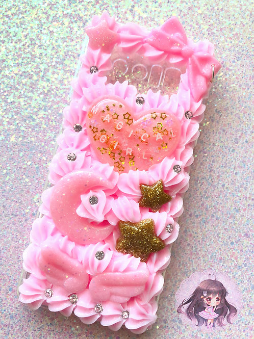 Note 8 Magical Girl Decoden Case