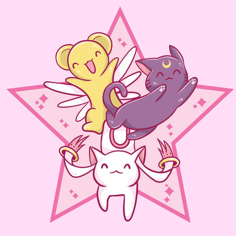 Magical Girl Mascots