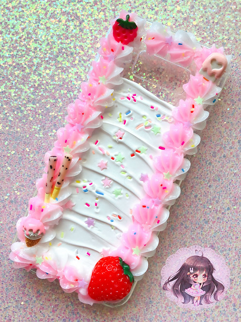 Samsung S8 PLUS Cake Decoden Case